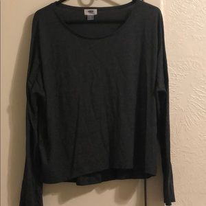 Thin Crewneck Long Sleeve Shirt